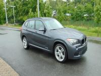 CARFAX One-Owner. Clean CARFAX. Gray 2015 BMW X1