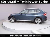 New Price! Certified. X1 xDrive28i, 4D Sport Utility,
