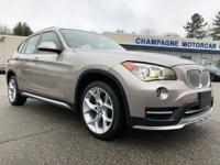 Stunning loaded up one owner 2015 BMW X1 28i X LINE