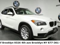 CARFAX One-Owner. Certified. Alpine White 2015 BMW X1