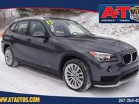 Mineral Gray Metallic 2015 BMW X1 xDrive28i AWD 8-Speed