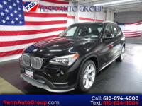CARFAX One-Owner. Clean CARFAX. Black 2015 BMW X1