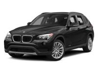 Climb inside the 2015 BMW X1! This is a superior