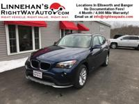 This BMW X1 is an awesome compact luxury crossover SUV!