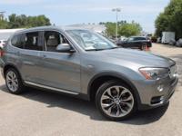 BMW CERTIFIED Warranty thru 8/14/2020 or 100,000 Miles.