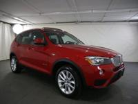 2015 BMW X3 Melbourne Red Metallic AWD  CARFAX