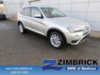 Options:  2015 Bmw X3 Awd 4Dr Xdrive28i|4 Cylinder