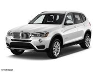 We are excited to offer this 2015 BMW X3. This BMW