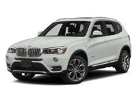This Certified Pre-Owned 2015 BMW X3 xDrive28i comes