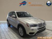 Beautiful BMW X3 xDrive 2.8i finished in Gold over