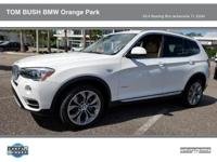 Come see this NEWLY ARRIVED 2015 BMW X3 XDRIVE28I