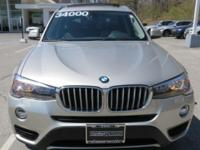 2015 BMW X3 Automatic 8-Speed   All Wheel Drive, never