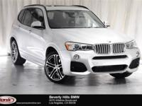 This 2015 BMW X3 xDrive35i is a One Owner vehicle with