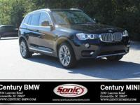 BMW Certified Pre-Owned! This 2015 BMW X3 xDrive35i is