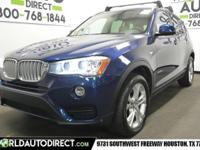 World Auto Direct is excited to offer this 2015 BMW X3.