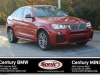 BMW Certified Pre-Owned! This 2015 BMW X4 xDrive28i SAV