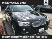 New Price! CARFAX One-Owner. Black 2015 BMW X4