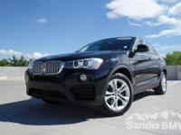 Sandia BMW MINI is offering this  2015 BMW X4