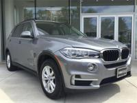 Nicely equipped 2015 BMW X5 xDrive35i; Ivory