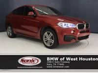 This Certified Pre-Owned 2015 BMW X6 sDrive35i is a One