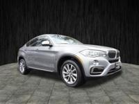 2015 BMW X6 xDrive35i 8-Speed Automatic Gray 27/18