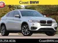 Options:  2015 Bmw X6 Xdrive35i|Silver|Cold Weather