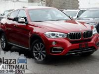 2015 BMW X6 xDrive35i Flamenco Red Metallic Black