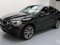 2015 BMW X6 with 3.0L Turbocharged I6 DI Engine,Leather