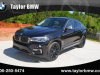 This 2015 BMW X6 xDrive50i is proudly offered by Taylor