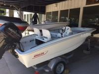 Virtually NEW 2015 Boston Whaler 13 Super Sport with no