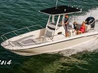 "2015 Boston Whaler 240 ""Multitasker"" may as well be the"