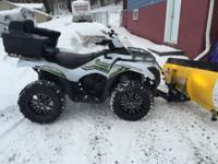 2015 Brute Force 750 limited edition, this quad is like