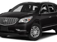 2015 Buick Enclave Leather, Crimson Red Tintcoat/Light