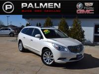 White Diamond Clearcoat 2015 Buick Enclave Premium