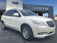 White 2015 Buick Enclave Leather Group FWD 6-Speed