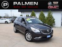 Iridium Metallic 2015 Buick Enclave Leather Group FWD