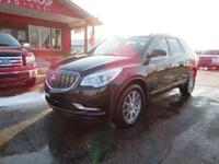 Options:  2015 Buick Enclave Heated Leather Seats!