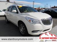 This 2015 Buick Enclave  has a 3.6 liter V6 Cylinder