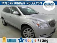 2015 Silver Buick Enclave Leather Group    AWD.