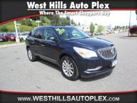 ENCLAVE LEATHER 4D SUV AWD  Options:  Blind Spot