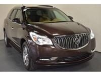 Clean CARFAX. Buick Certified. CARFAX One-Owner. AWD,