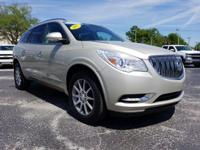 Certified. 2015 Buick Enclave Leather Group FWD 6-Speed