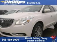 FWD. 2015 Buick Enclave Leather Group FWD 6-Speed