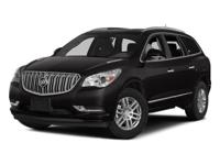 This 2015 Buick Enclave Leather Group in Dark Chocolate