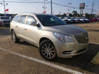 Certified. Champagne Silver Metallic 2015 Buick Enclave