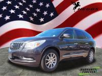 Carbon Black Metallic 2015 Buick Enclave Leather Group