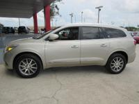 Options:  2015 Buick Enclave Fwd 4Dr Leather|Navigation