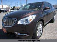Clean CARFAX. Brown 2015 Buick Enclave Premium Group