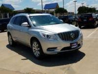 Certified. Quicksilver Metallic 2015 Buick Enclave