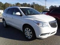 Certified. White Diamond Tricoat 2015 Buick Enclave